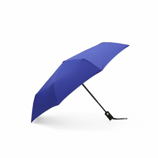 POCKET AUTO時尚仕幔自動折傘-深邃藍 1