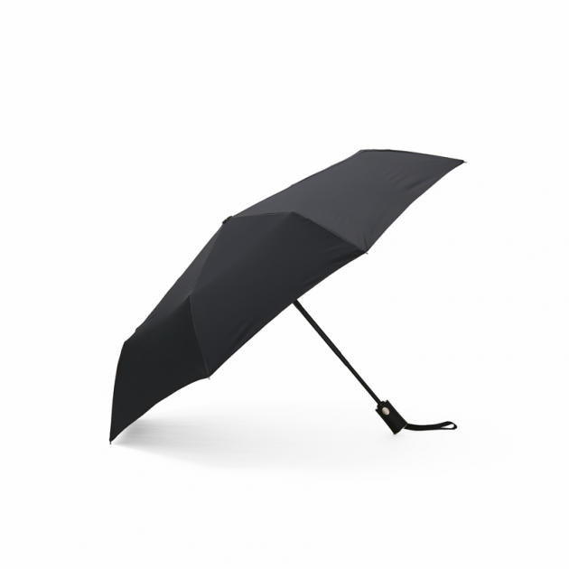 POCKET AUTO時尚仕幔自動折傘-黛麗黑 1
