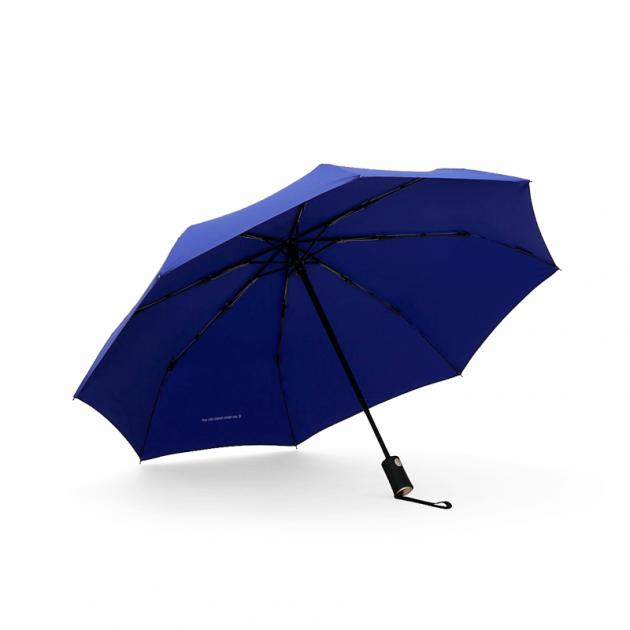 POCKET AUTO時尚仕幔自動折傘-深邃藍 2
