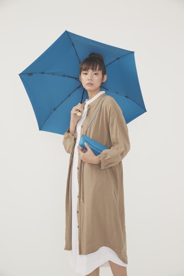 MINI POCKET迷你仕幔折傘-多瑙藍 3