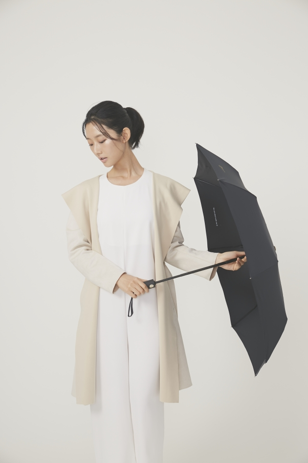 POCKET AUTO時尚仕幔自動折傘-黛麗黑 4