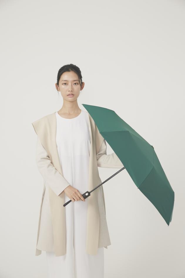 POCKET AUTO時尚仕幔自動折傘-翡冷翠 3